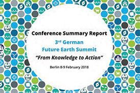 Cover 3. German Future Earth Summit